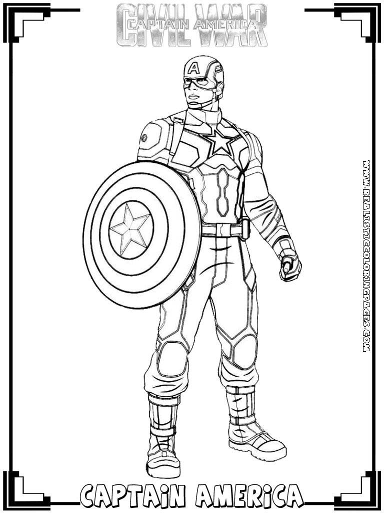 Lego Marvel Coloring Pages To Download And Print For Free: Marvel Captain America Coloring Pages