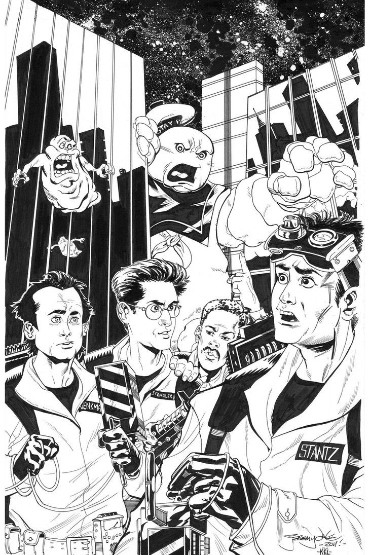 Ghostbusters Coloring Pages - Coloring Home