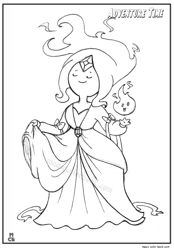 Adventure time coloring pages finn coloring home for Adventure time coloring page