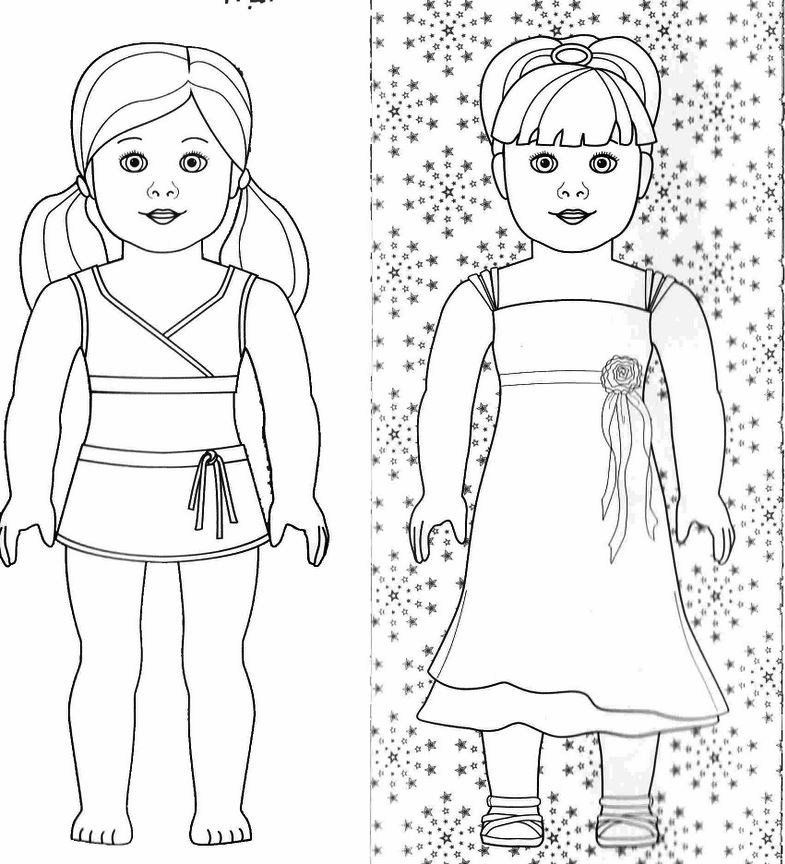 Big Girl Coloring Pages To Print - Coloring Pages For All Ages
