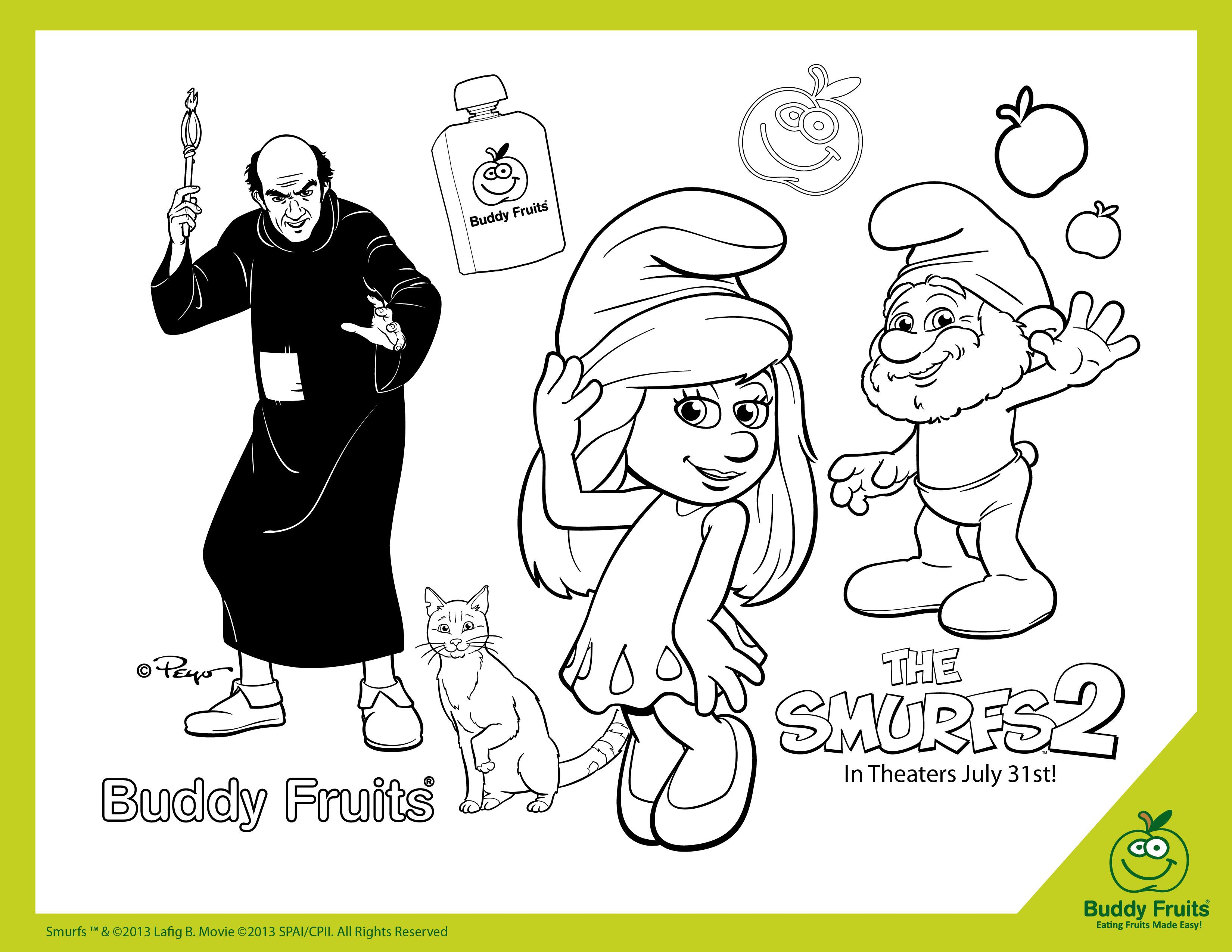 Coloring Pages The Smurfs Coloring Pages smurfs coloring pages online az the kids