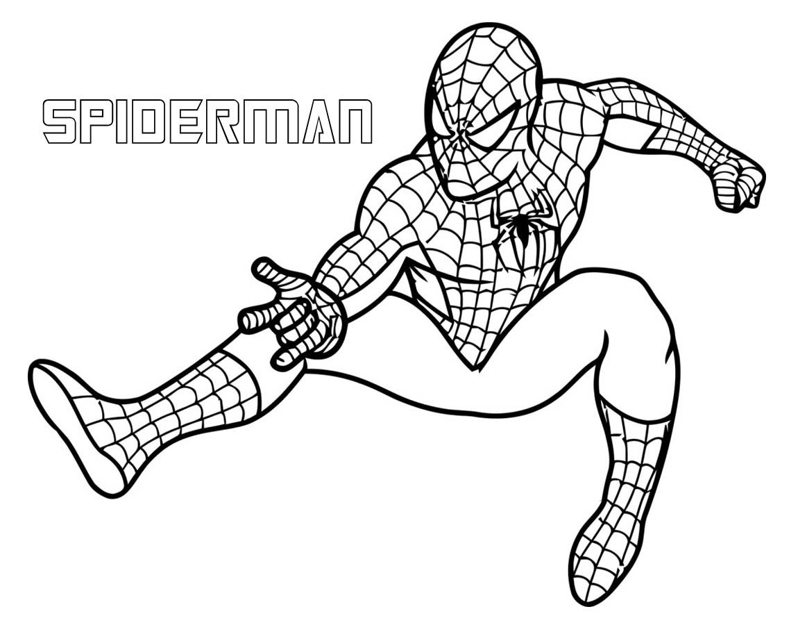 superhero free coloring pages - photo#1