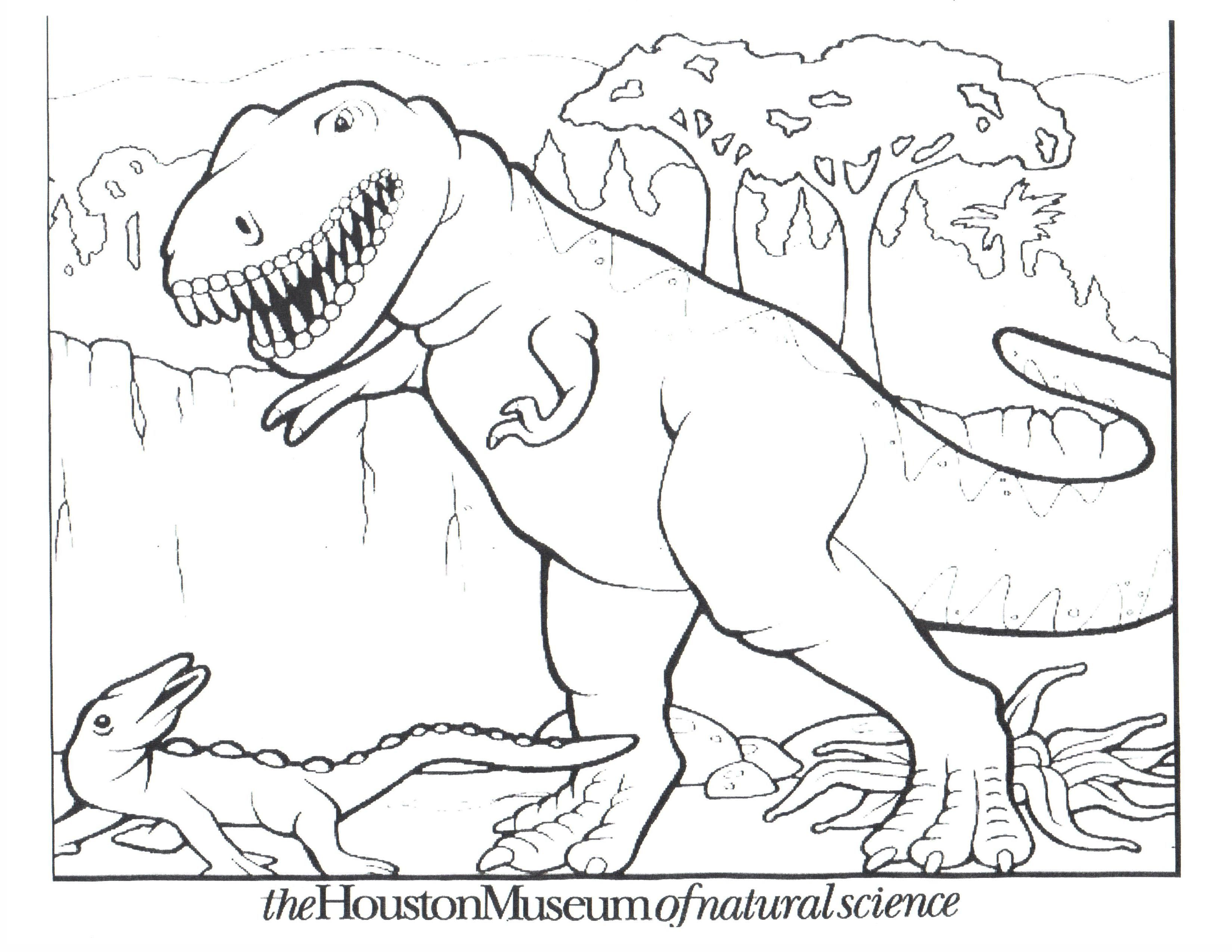 free printable dinosaur coloring pages for kids coloring home