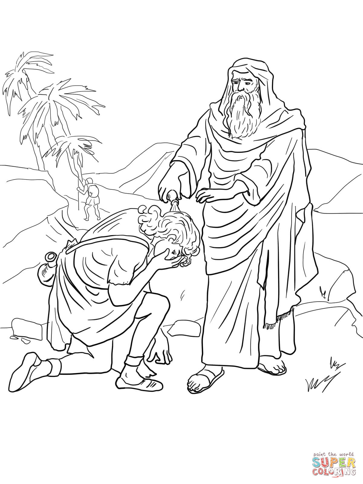 King Saul Coloring Page Coloring Home King Saul Coloring Page