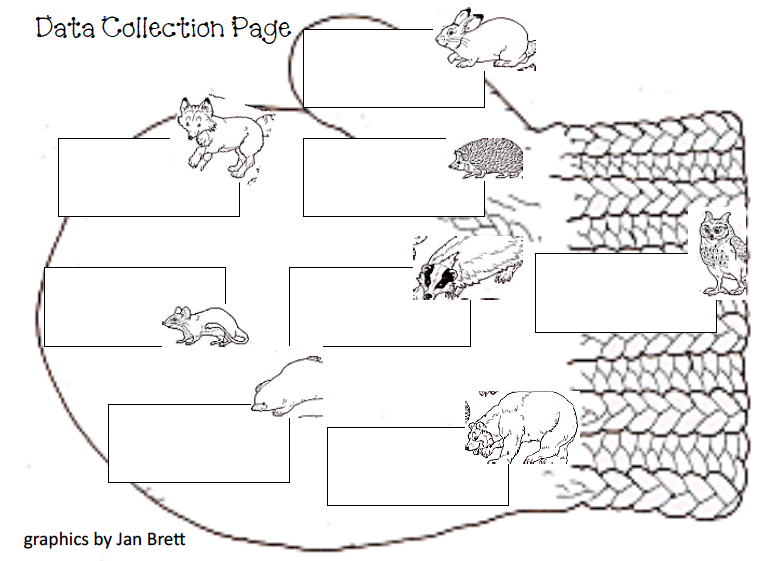 Jan Brett The Mitten Coloring Page - AZ Coloring Pages