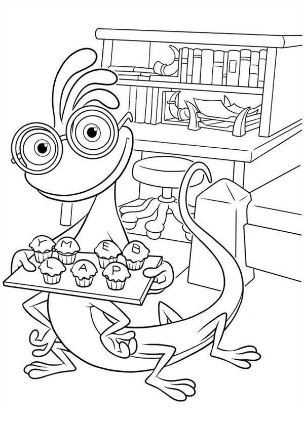 Monster Inc University Coloring Pages - Coloring Home