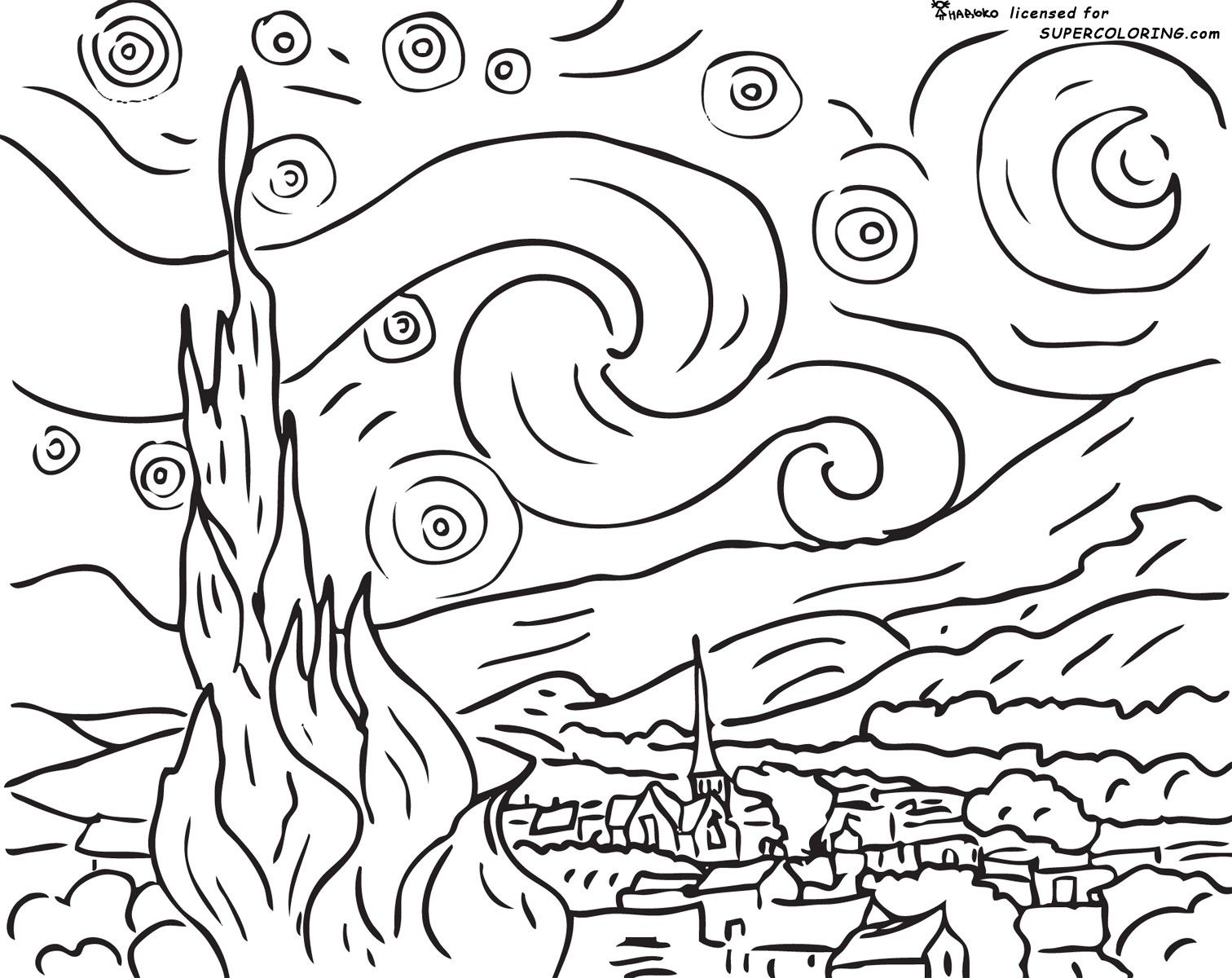 awesome coloring pages for teenagers - photo#29