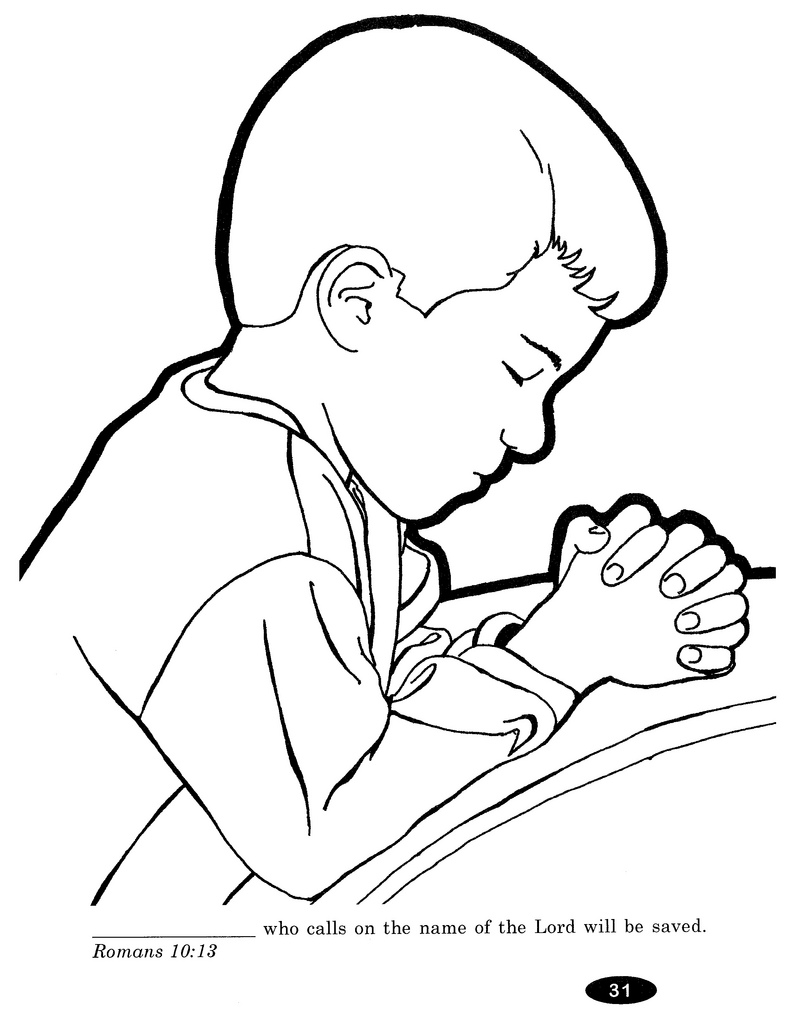 Children Praying Coloring Page Az Coloring Pages Child Praying Coloring Page