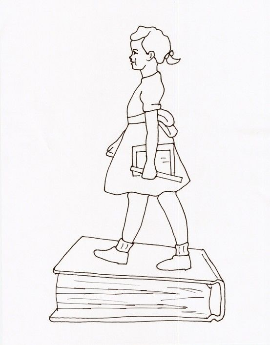 Ruby Bridges Coloring Page Coloring