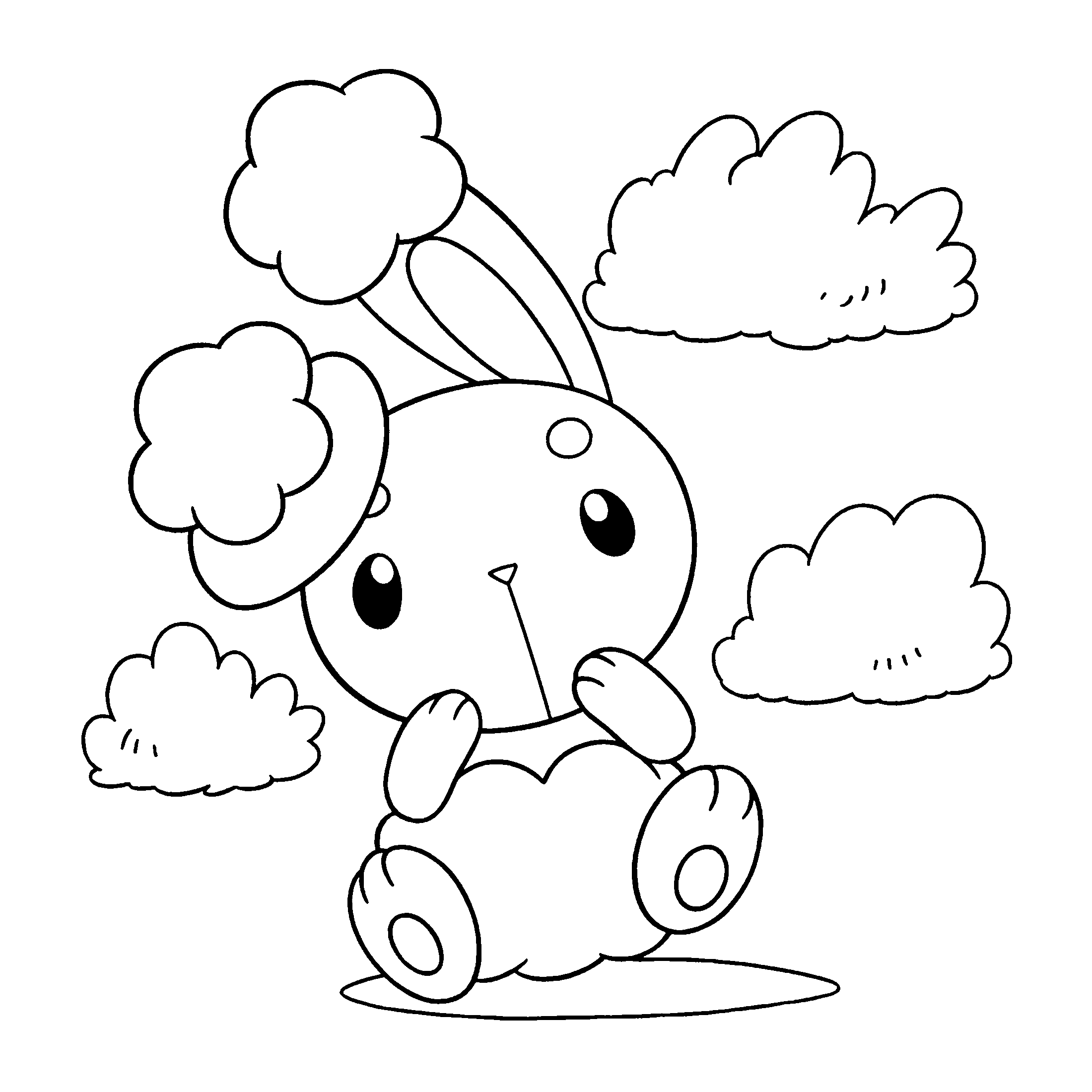 Pokemon Group Coloring Pages - Coloring Home