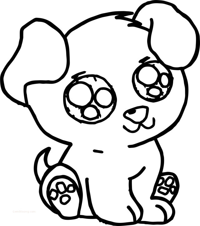 coloring pages : Cute Dog Coloring Pages Cute Dog' coloring pagess