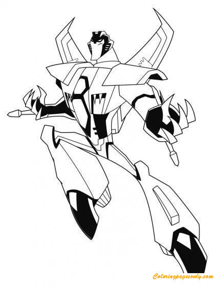 Transformers Starscream Coloring Pages ...coloringpagesonly.com