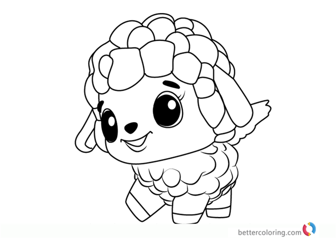 Printable Coloring Pages Hatchimals Puppit From Hatchimals - Coloring  Home