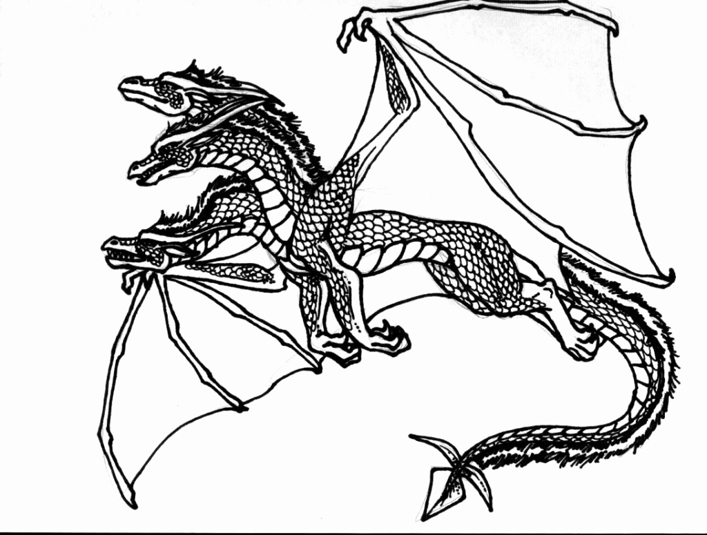 Ender Dragon Coloring Page at GetDrawings | Free download