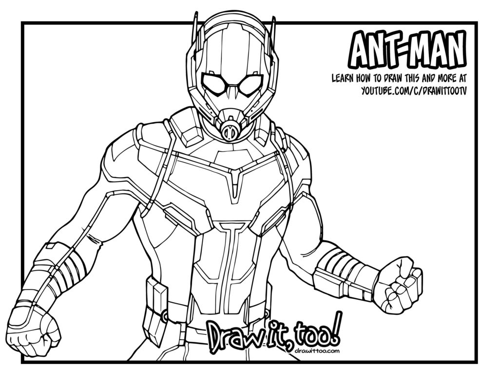 Ant Man Coloring Page Collections in 2020 | Coloring pages ... | 791x1024
