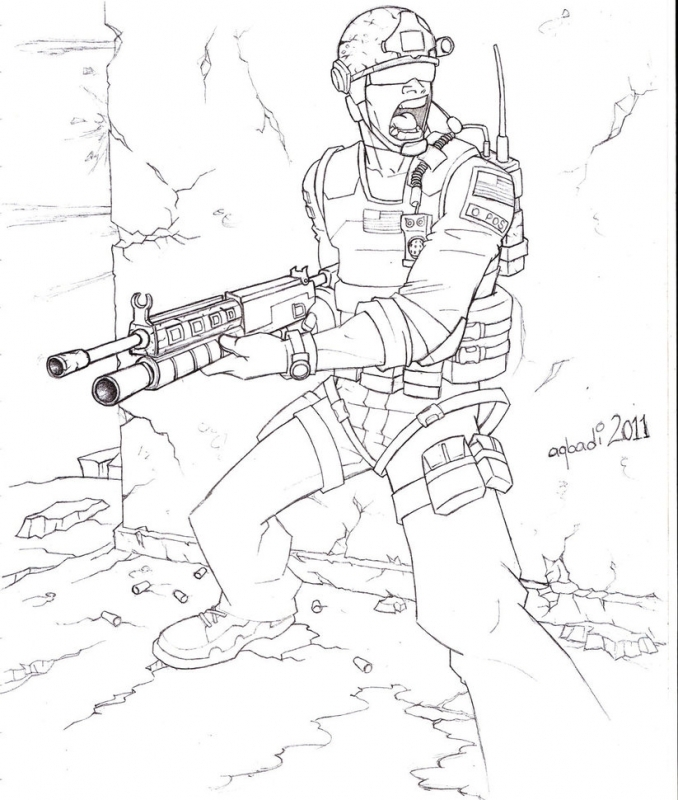 Call Of Duty Black Ops Coloring Pages - Coloring Home