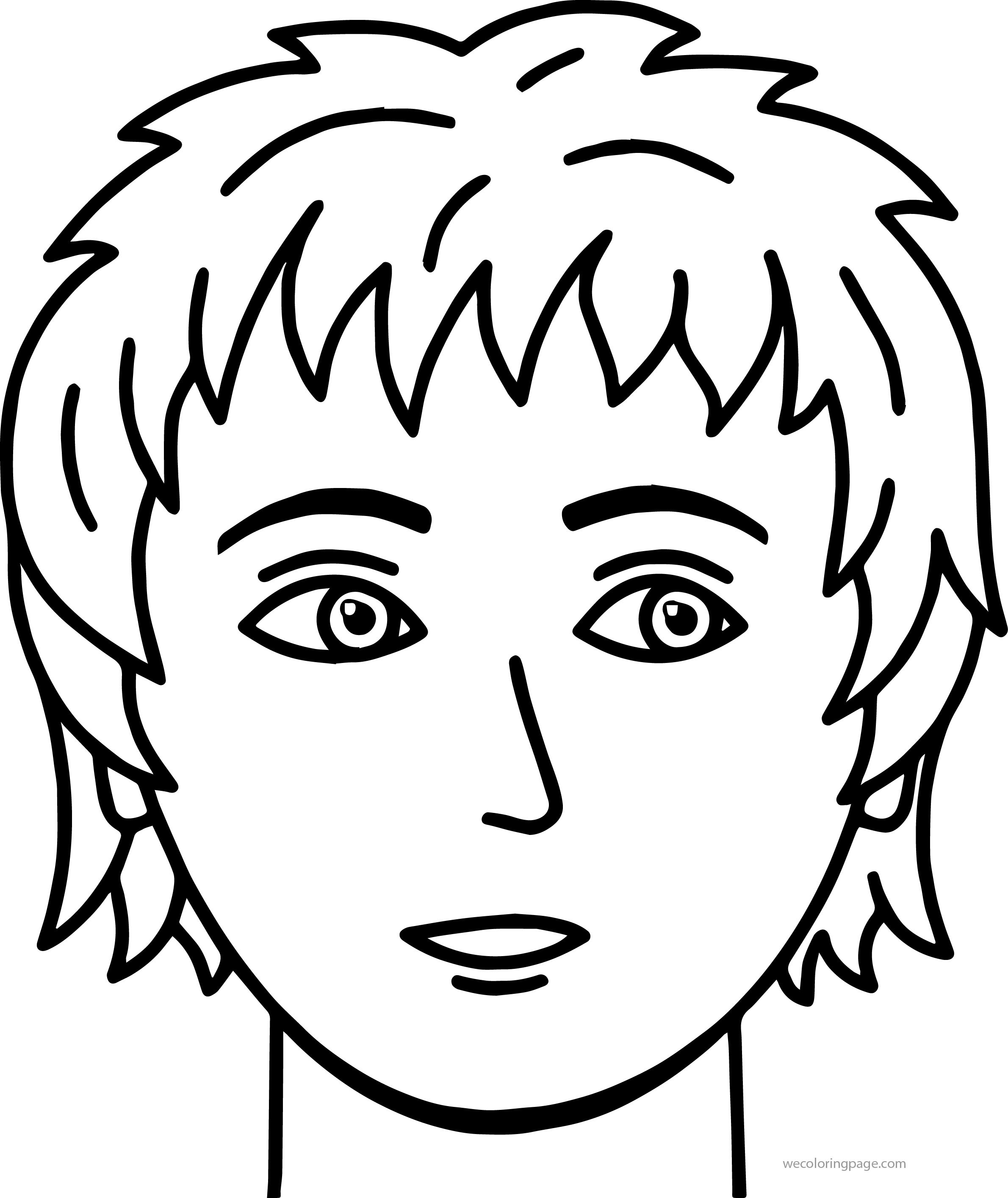 Best 30 Coloring Pages Of Boys Faces - Best Coloring Pages Inspiration and  Ideas