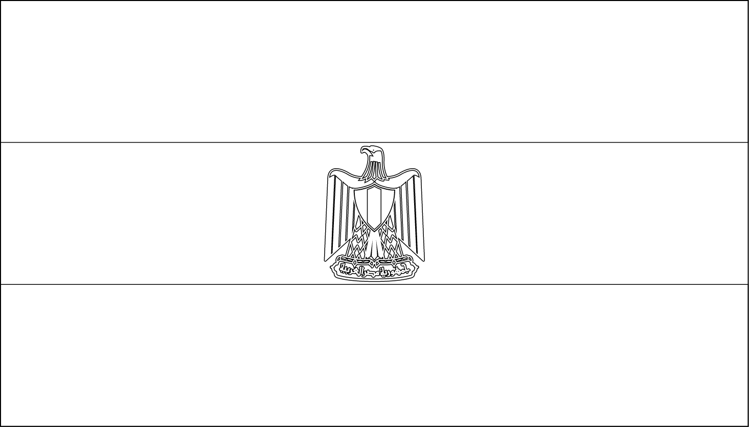 egyptian flag coloring pages - photo#12