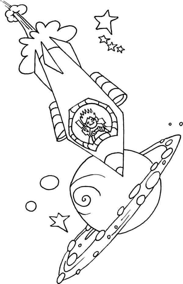 real rocket coloring pages - photo#15
