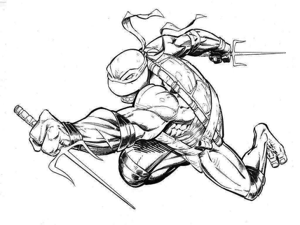 Tmnt Coloring Pages Raphael Tmnt Coloring Pages Ninja Turtles ...