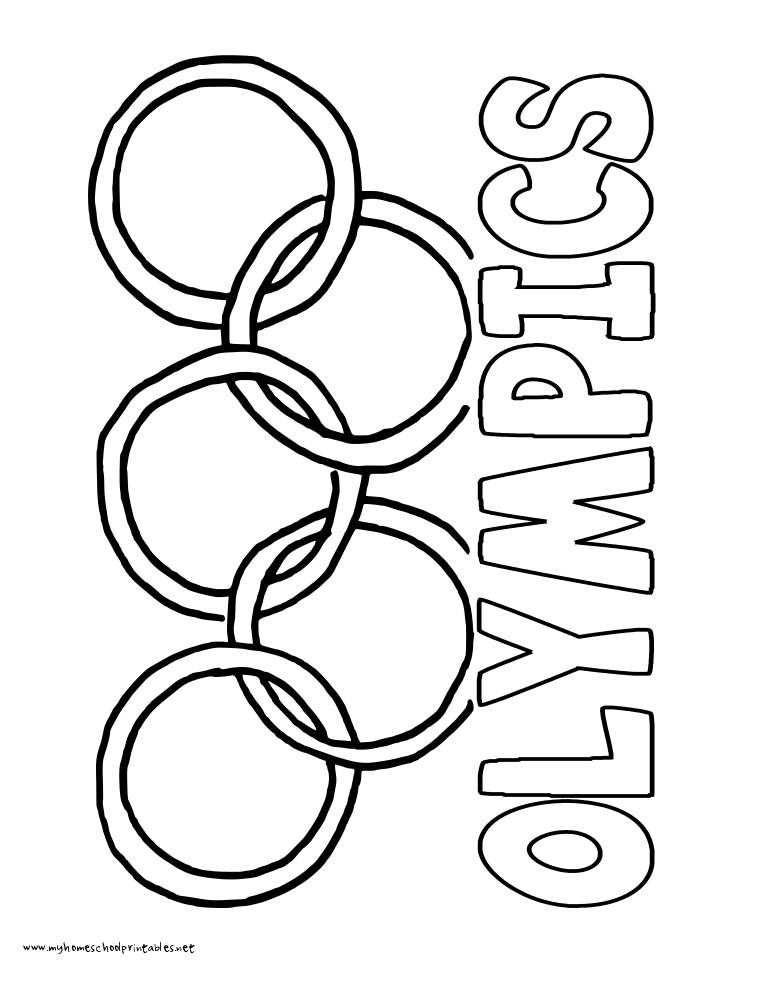 coloring pages olyimpics - photo#11