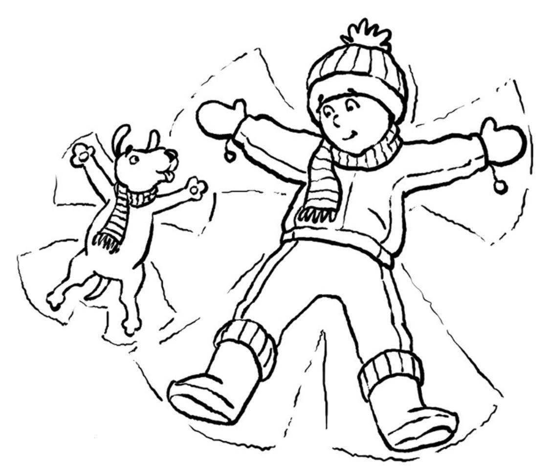 free snowbuddies coloring pages - photo#10
