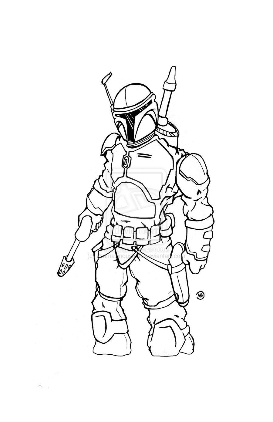 Boba Fett Vector Art | Best Vector Image For You Save