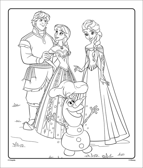 Frozen 2 Coloring Pages - Coloring Home