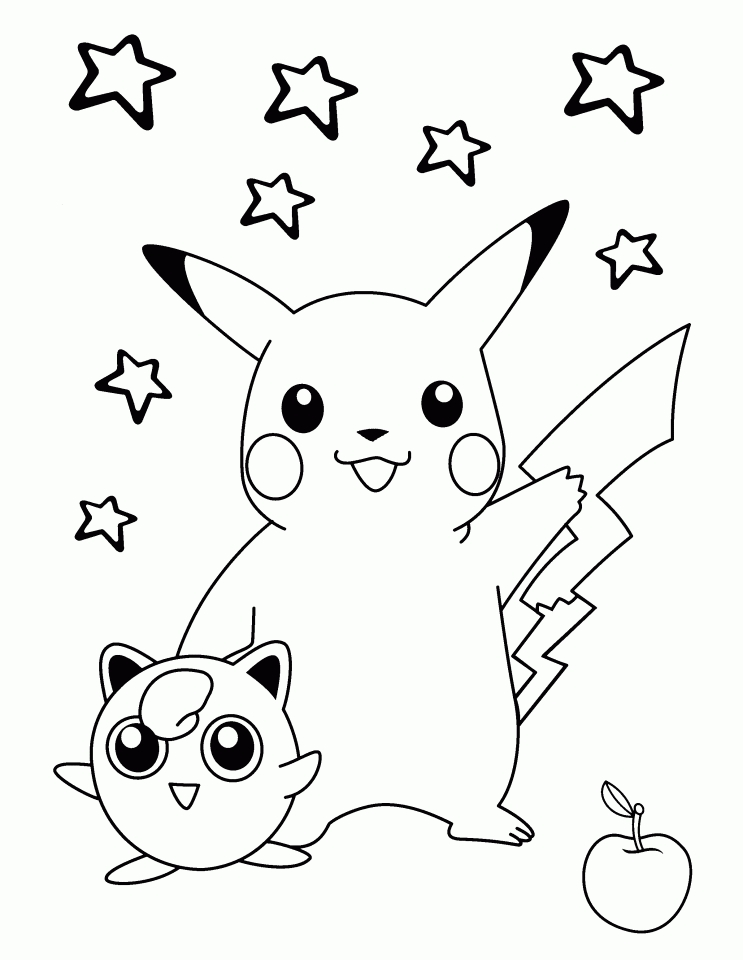 Get This Pikachu Coloring Pages Printable gats3 !