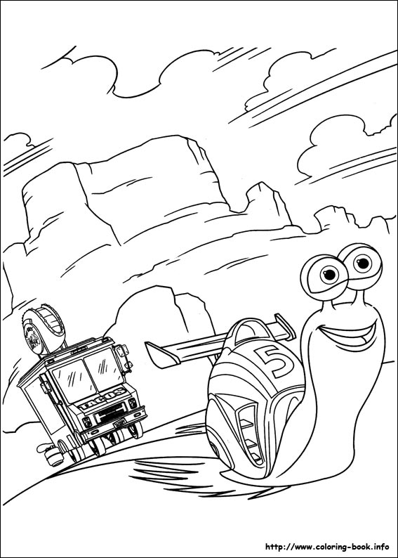 Turbo coloring pages on Coloring-Book.info