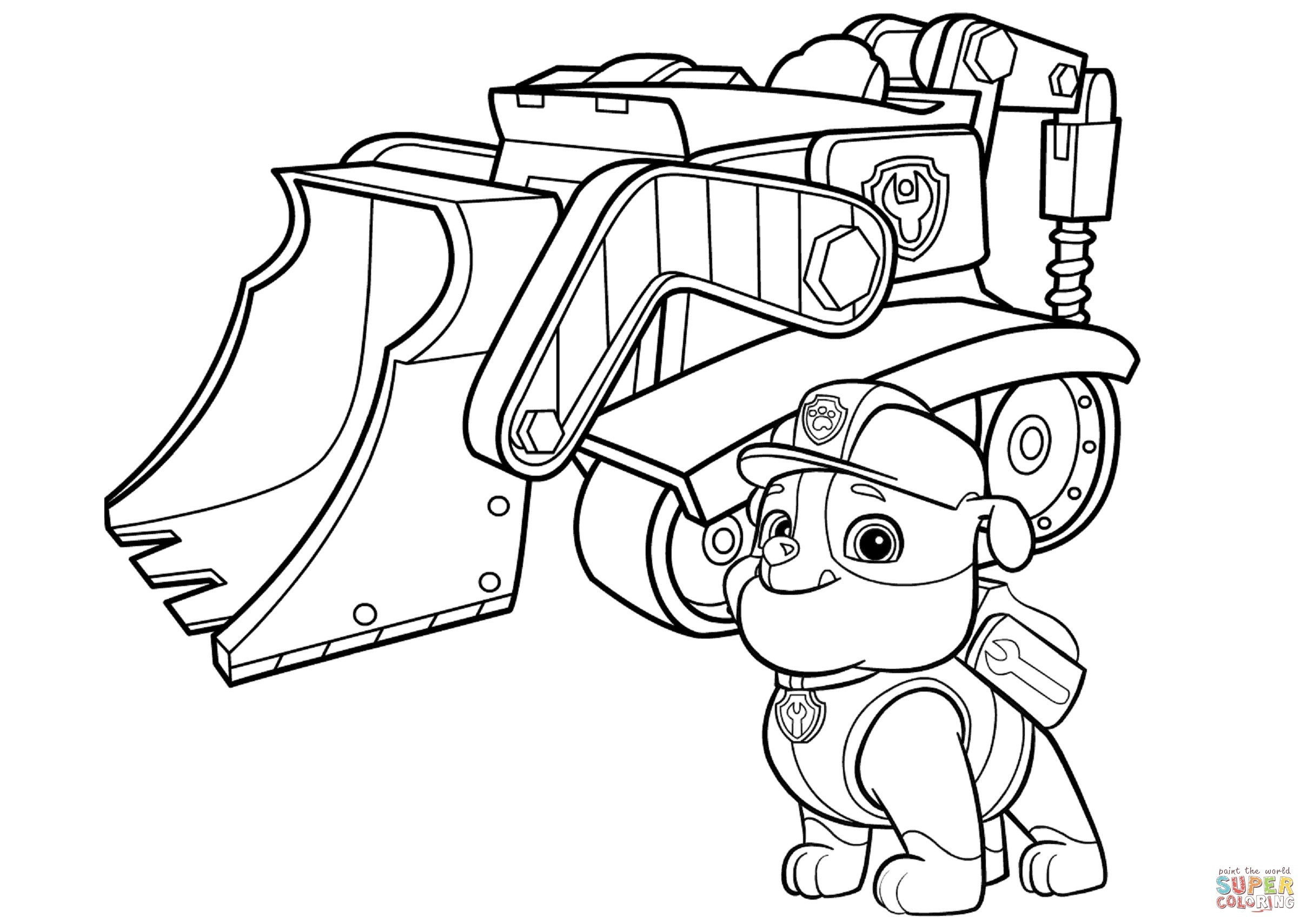 Ryder Coloring Pages - Coloring Home