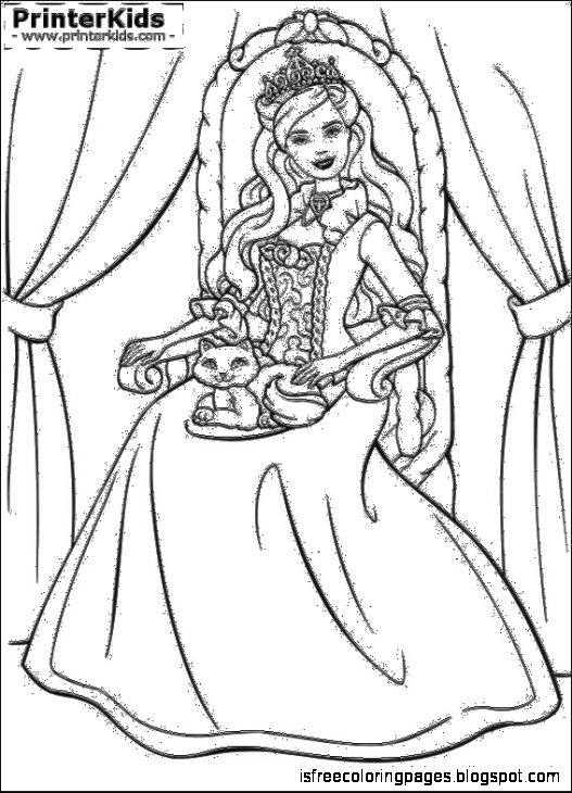 princess pauper coloring pages - photo#9