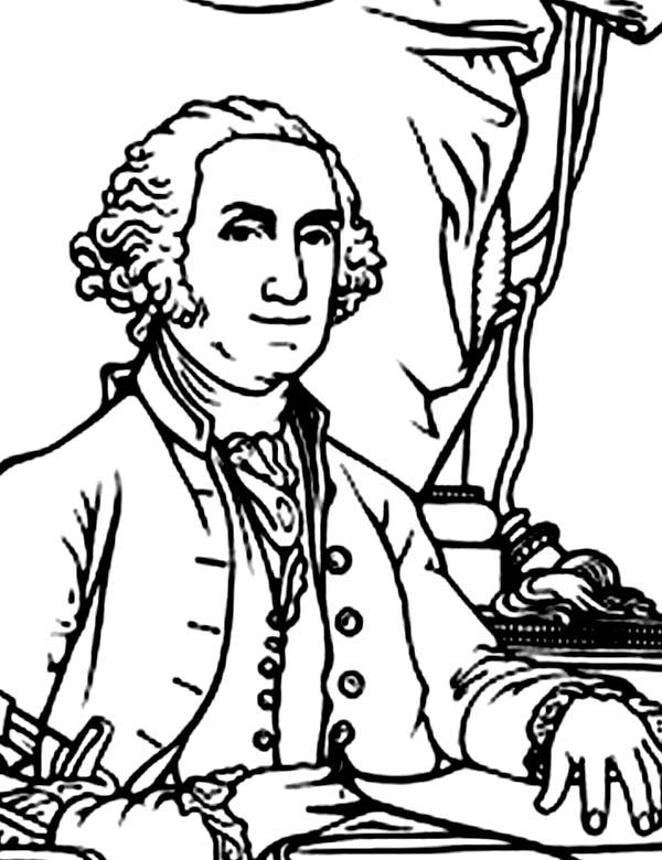 35 Free Coloring Page George Washington