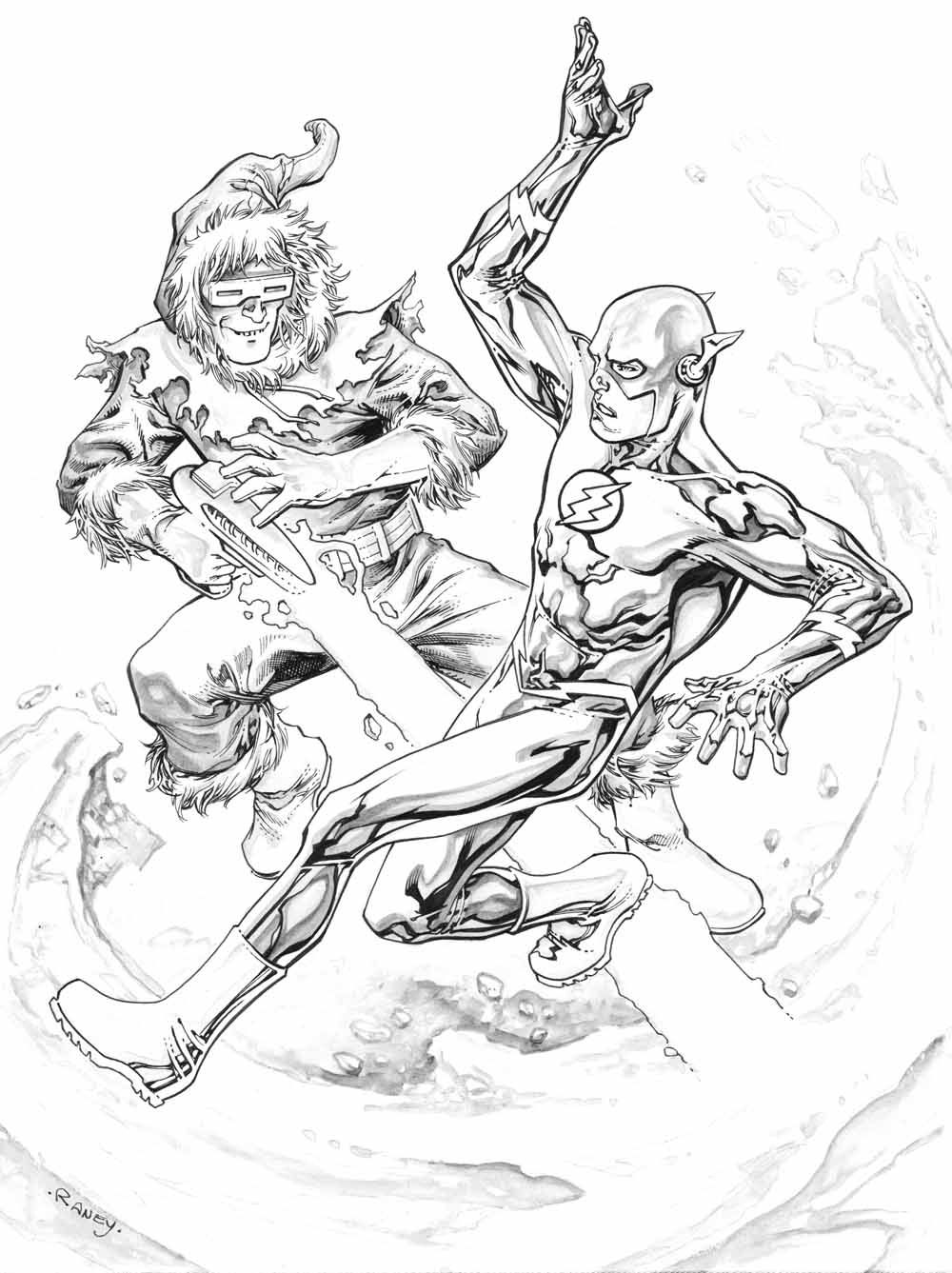 The flash coloring pages - The Flash Coloring Coloring Pages For Kids And For Adults