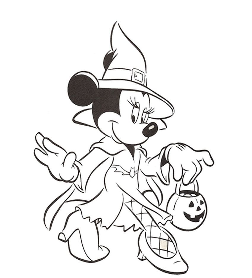 Disney Coloring Pages For Girls Minnie Mouse Cartoon Coloring Coloring Home