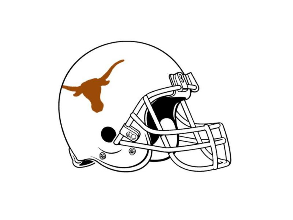 Texas Longhorn College Coloring Pages
