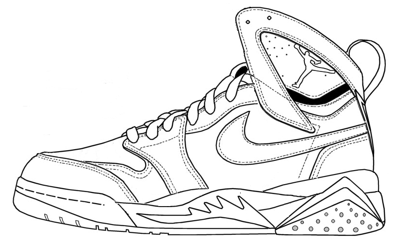 jordan coloring pages for kids - photo#36