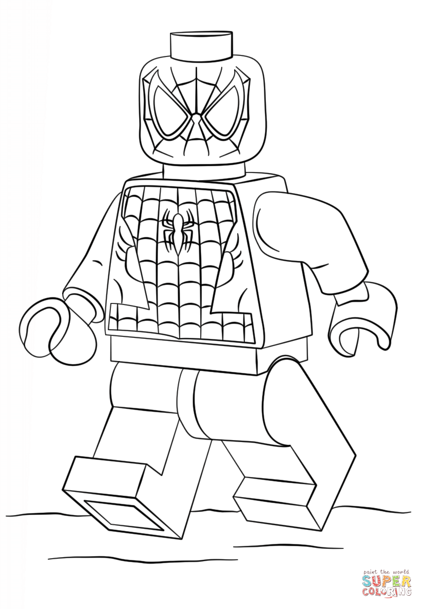 lego avengers coloring pages - photo #8