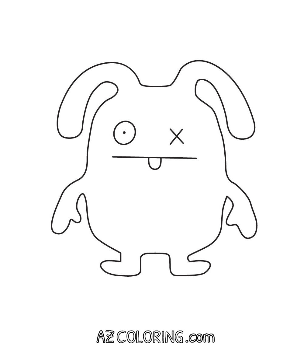 coloring pages of ugly dolls | Ugly Dolls Coloring Pages - Coloring Home