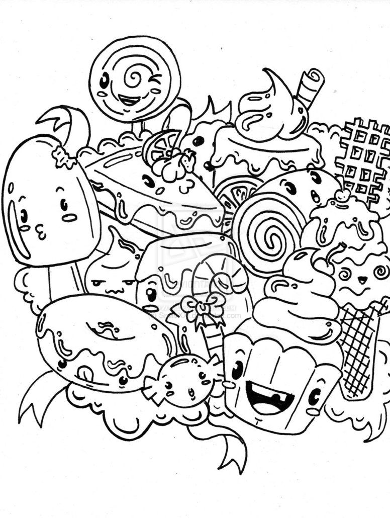 Candyland coloring pages printable az coloring pages for Candy color pages