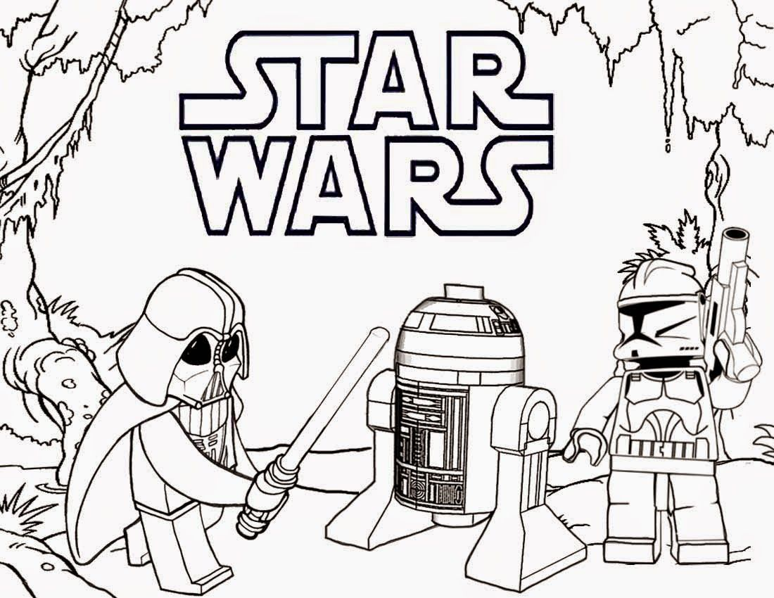 Printable coloring pages lego star wars - At At Star Wars Coloring Page Kylo Ren Star Wars Coloring Page