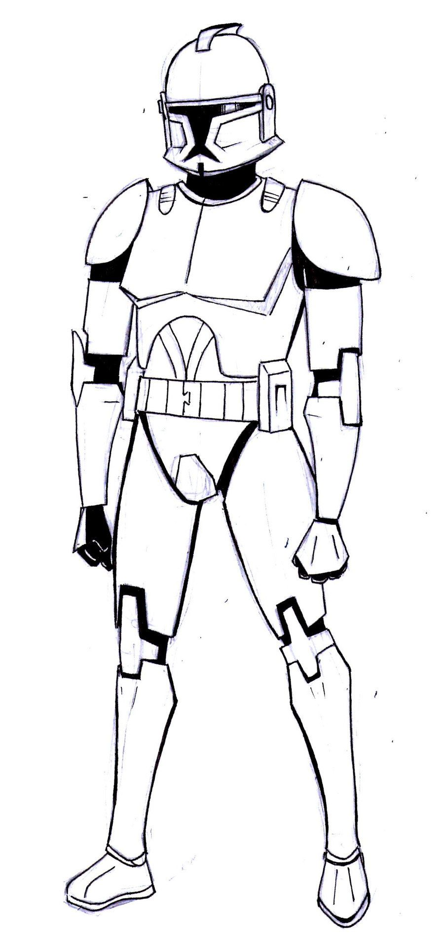 Adult Beauty Captain Rex Coloring Pages Images top star wars coloring pages captain rex az hicoloringpages gallery images