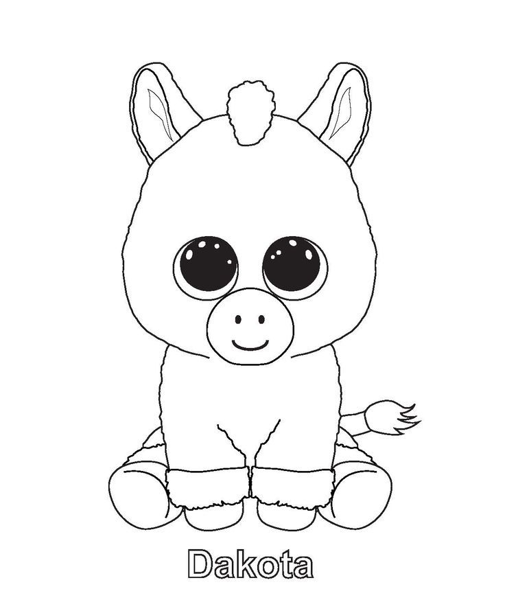 - Ty Beanie Boo Coloring Pages Download And Print For Free - Coloring Home