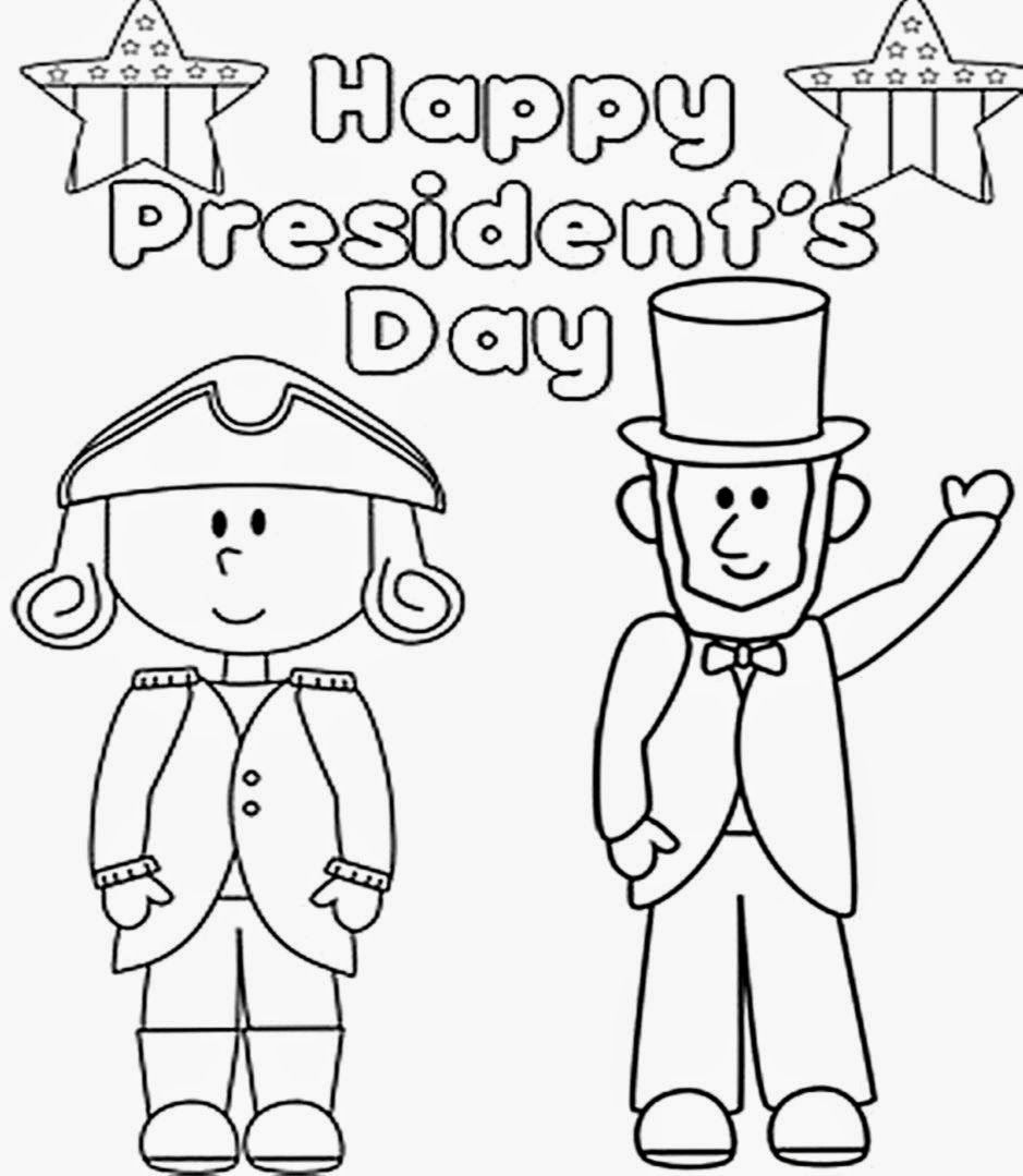 Printable Coloring Pages Us Presidents : President Day Coloring Pages To Print Coloring Home