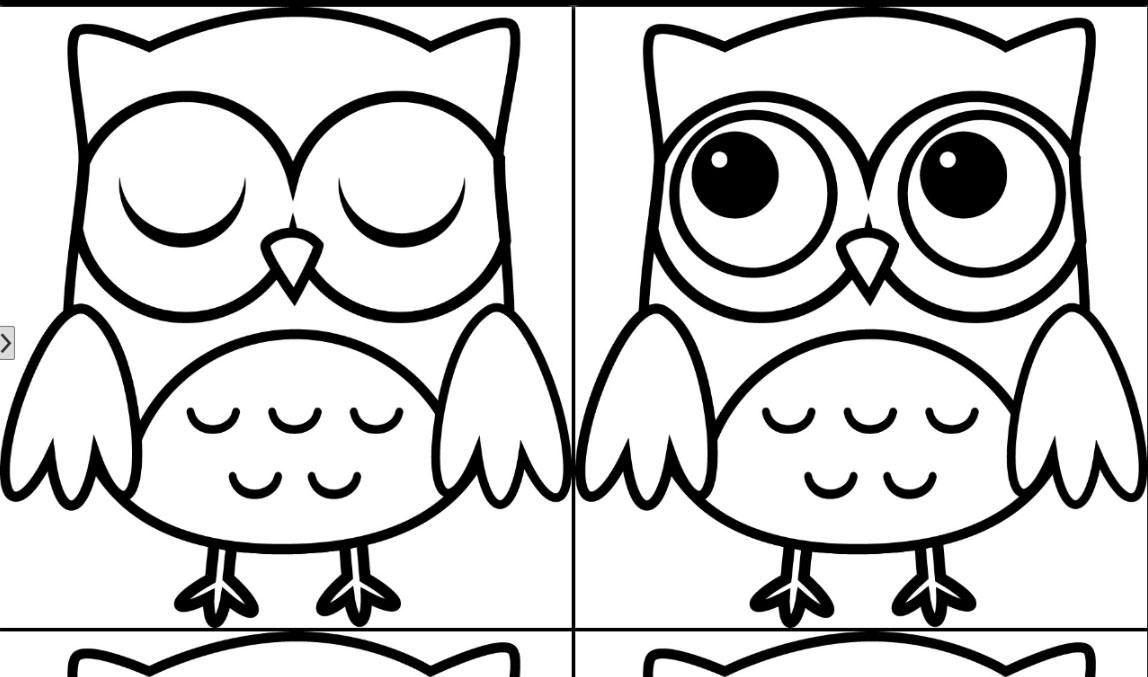 cute owl coloring pages home sketch coloring page