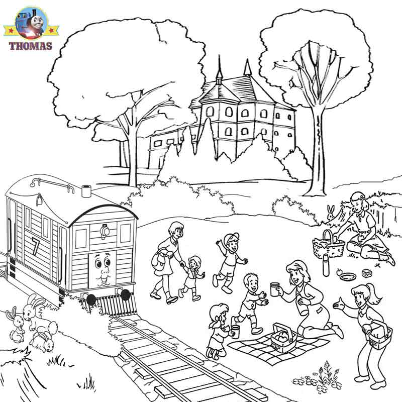 The Little Engine That Could Coloring