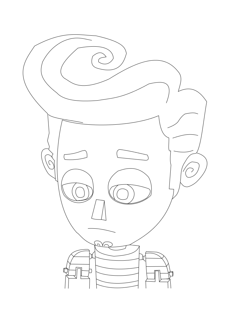 Book Of Life Coloring Pages at GetDrawings | Free download