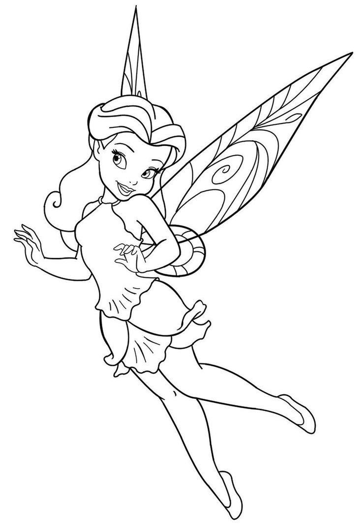 Fairy Coloring Pages Free Printable Free Coloring Pages Coloring Home