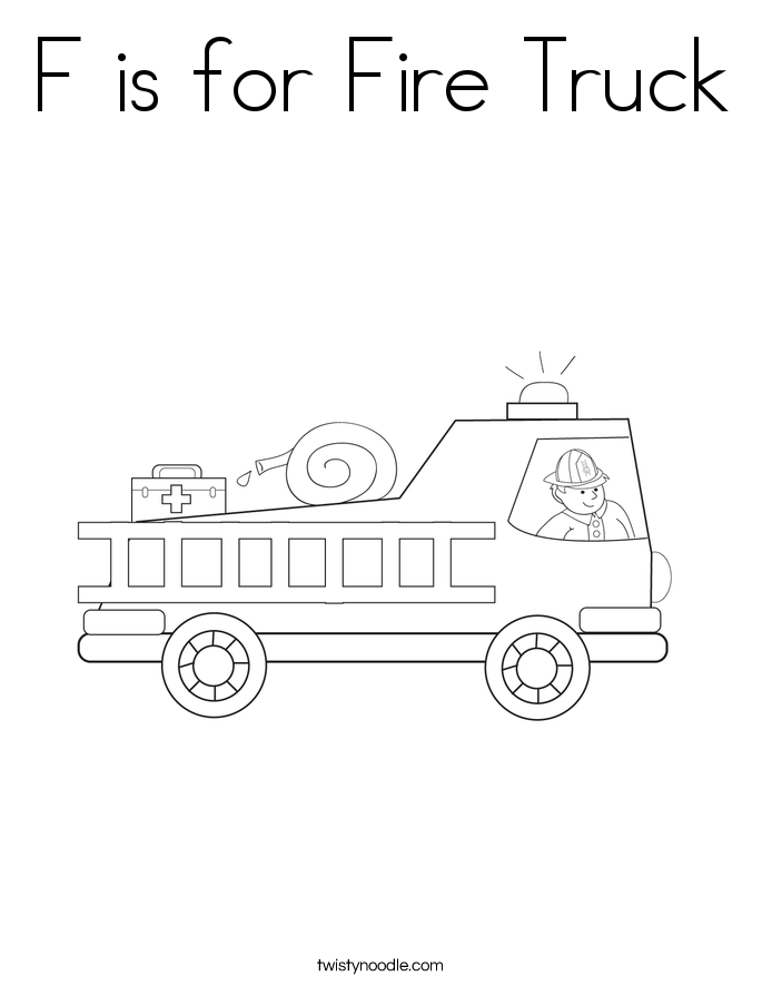 cardinal coloring pages preschool truck - photo#49