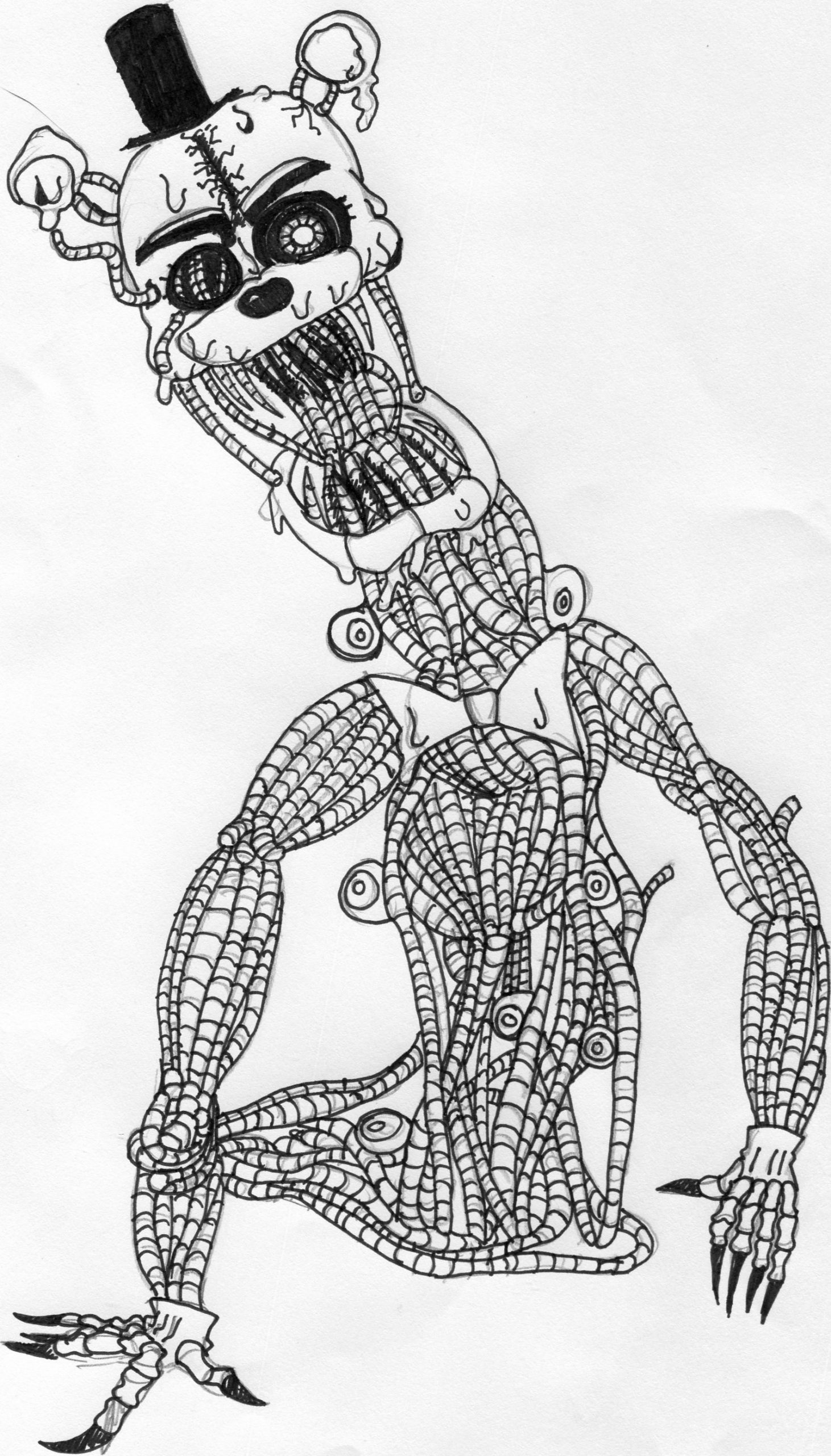 Top Coloring Pages: fnaf coloring pages bonnie. ultimate ...